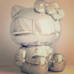 Sephora Sanrio hello kitty brush set silver
